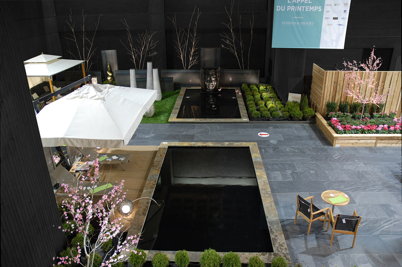 salon de l 39 habitation hodgins and associates landscape. Black Bedroom Furniture Sets. Home Design Ideas