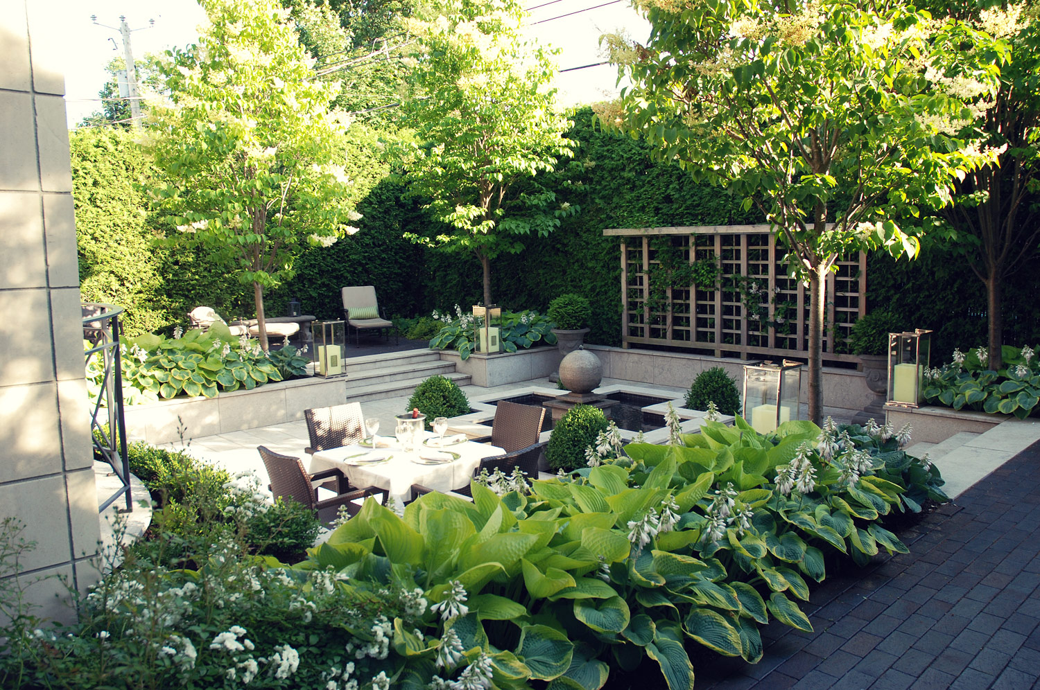 Gouin hodgins and associates landscape design services for Landscape design services