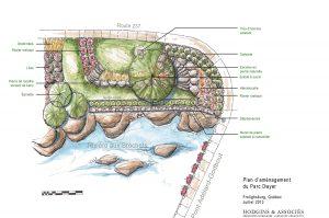 Hodgins-heta-architectes-paysagistes-Plan d'aménagement du Parc Dwyer